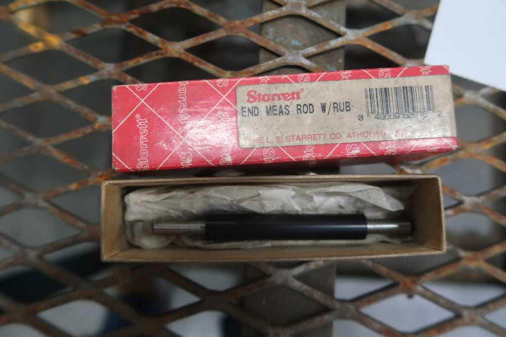 STARRETT 100 mm End Measuring Rod