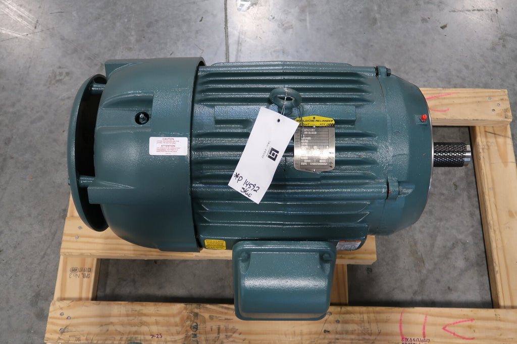25 hp Electric Motor No. VECP4103T