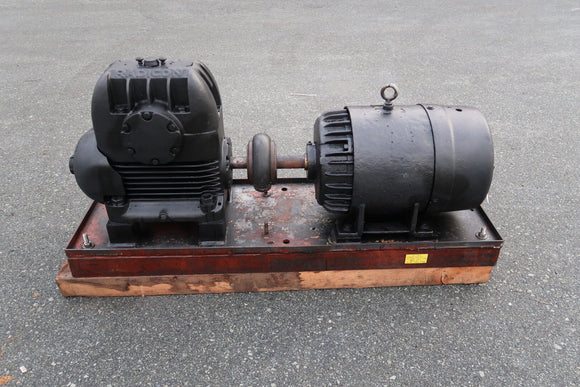 Motor With Gear Reducer