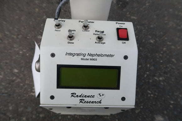RADIANCE RESEARCH Integrating Nephelometer