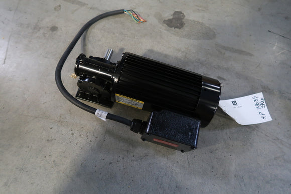 BALDOR 0.17 Hp Industrial Electric Motor With 20:1 Gear Reducer
