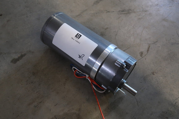 BALDOR 0.25 Hp Industrial Electric Motor With 15:1 Gear Reducer