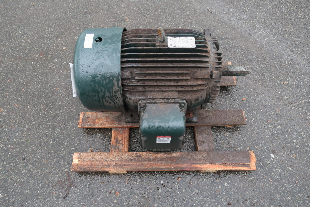 TOSHIBA 30 hp Electric Motor