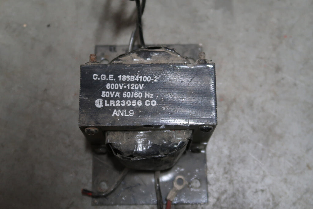 GENERAL ELECTRIC 50 vA Control Transformer
