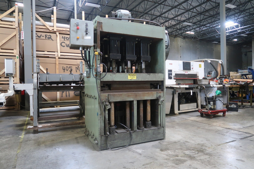 Hydraulic Press w/ FLECK BROS Hydraulic Power Pack Pump Unit