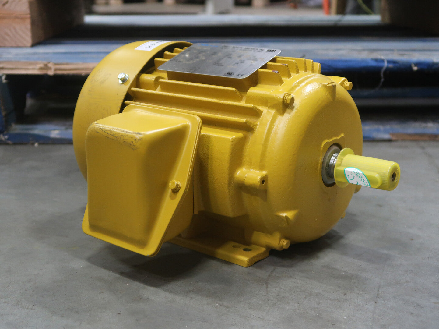 OMEC 2 Hp Industrial Electric Motor