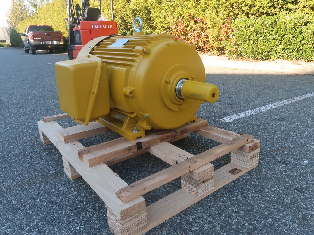 7.5 Hp Industrial Electric Motor No. OMN-254T-6