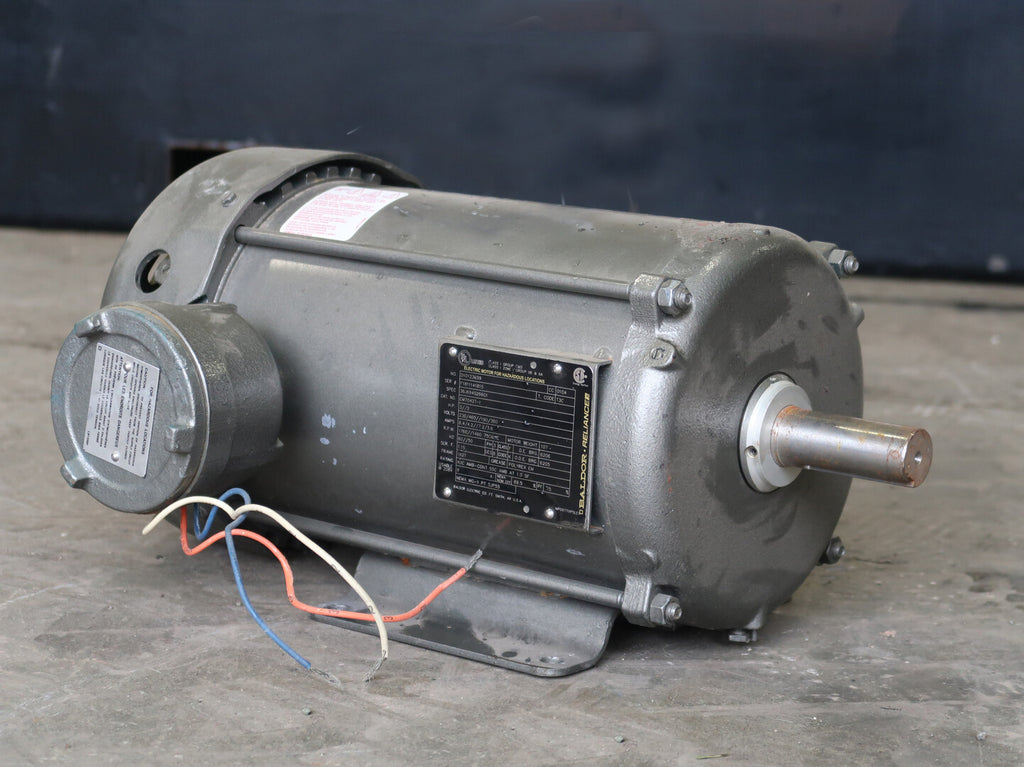 3 hp Industrial Electric Motor No. D10123686