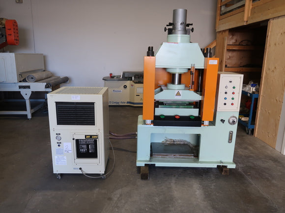 Punching Machine with SAGE TECH APS-24M Chiller