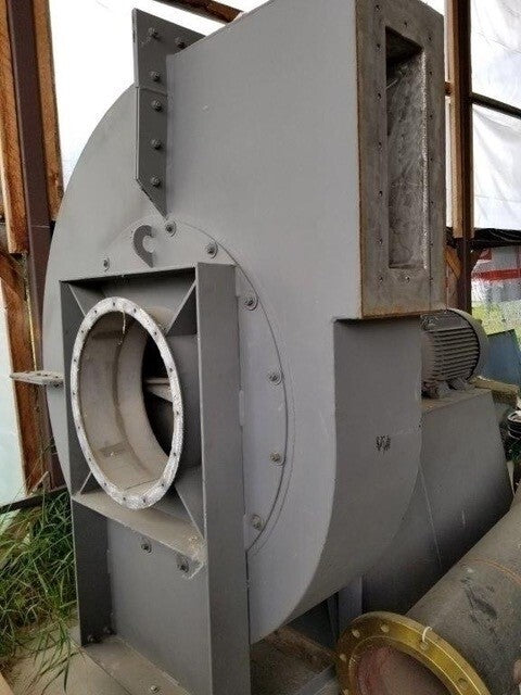 40 hp Wood Gas Extraction Fan