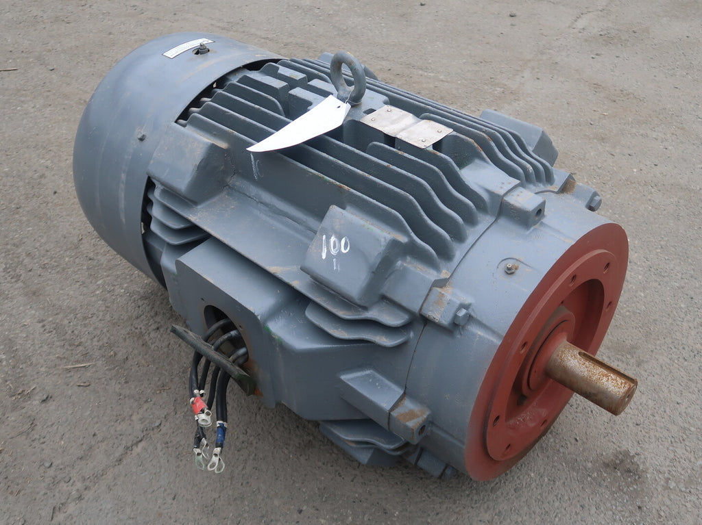 TOSHIBA 100 hp Industrial Electric Motor