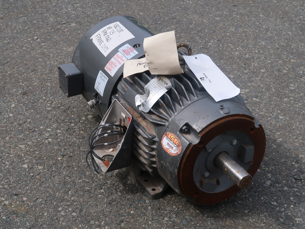 7.5 hp Industrial Electric Motor No. NP0997