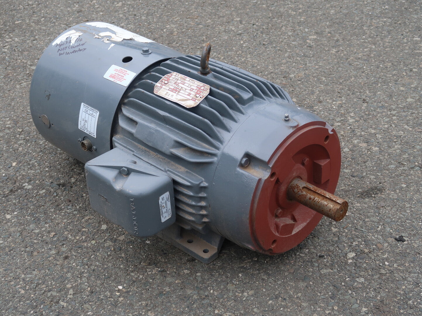 BALDOR 10 hp Industrial Electric Motor