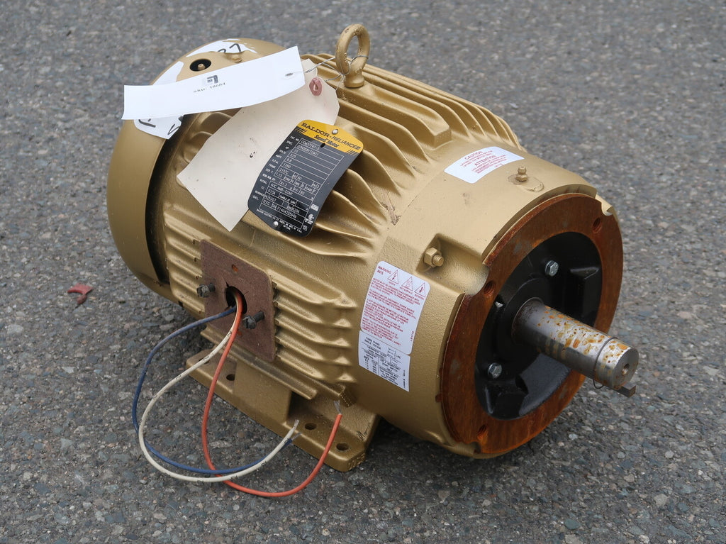 10 hp Industrial Electric Motor No. CEM3774T-5