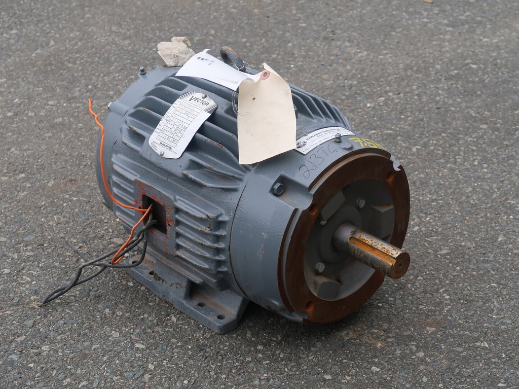 7.5 hp Industrial Electric Motor No. ZDM3770T-5