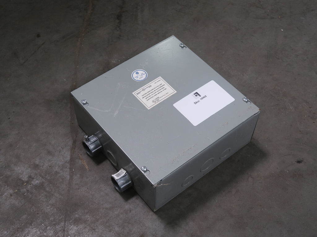 37UI Junction and Pull Box, Type 1 Enclosure