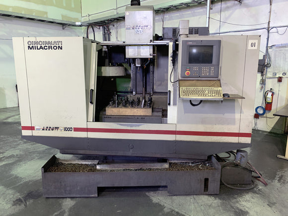 CINCINNATI Milacron Arrow 1000 ERO CNC Vertical Milling Machine