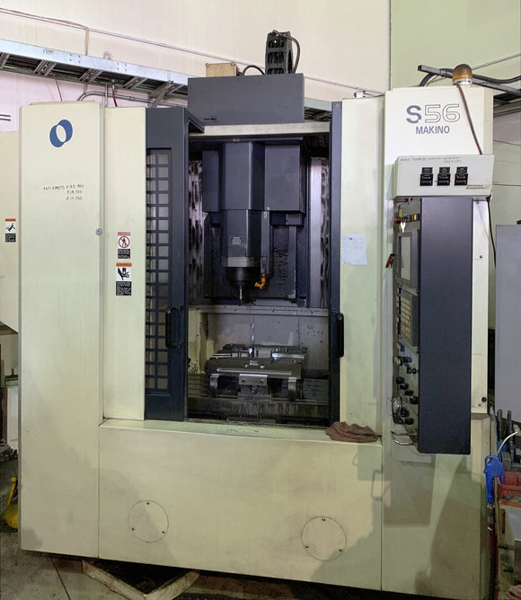 MAKINO S56 CNC Vertical Machining Center
