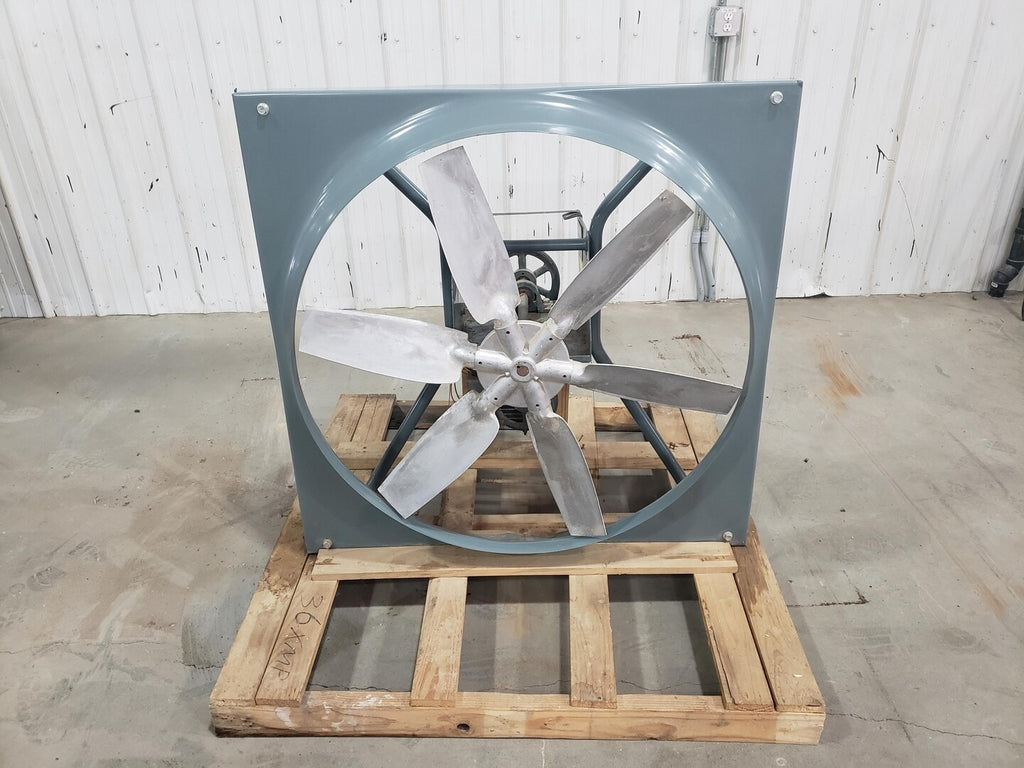 36-inch Fan w/ Louvers