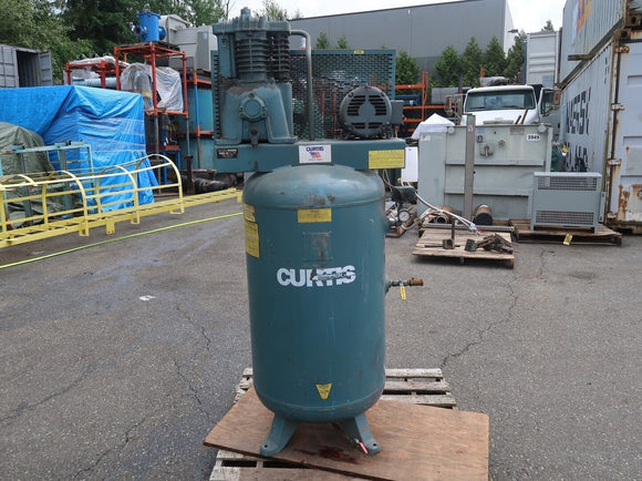 CURTIS AIR 5hp Two Stage Reciprocating Air Compressor
