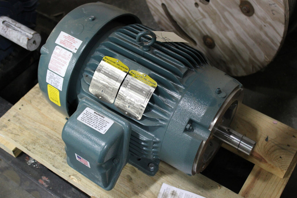 10 hp Electric Motor No. CECP83771T-4