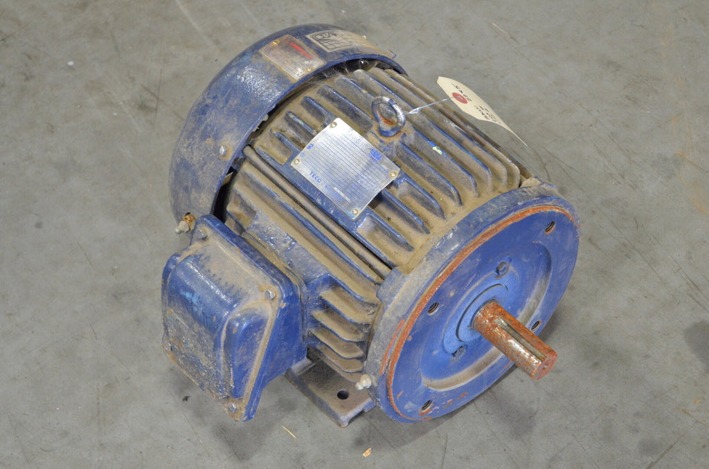 TECO WESTINGHOUSE 3 hp Electric Motor