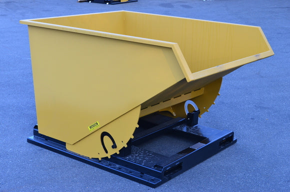 OCFAB 2-1/2 cu yd Self-dumping Hopper - 10 Gauge Steel