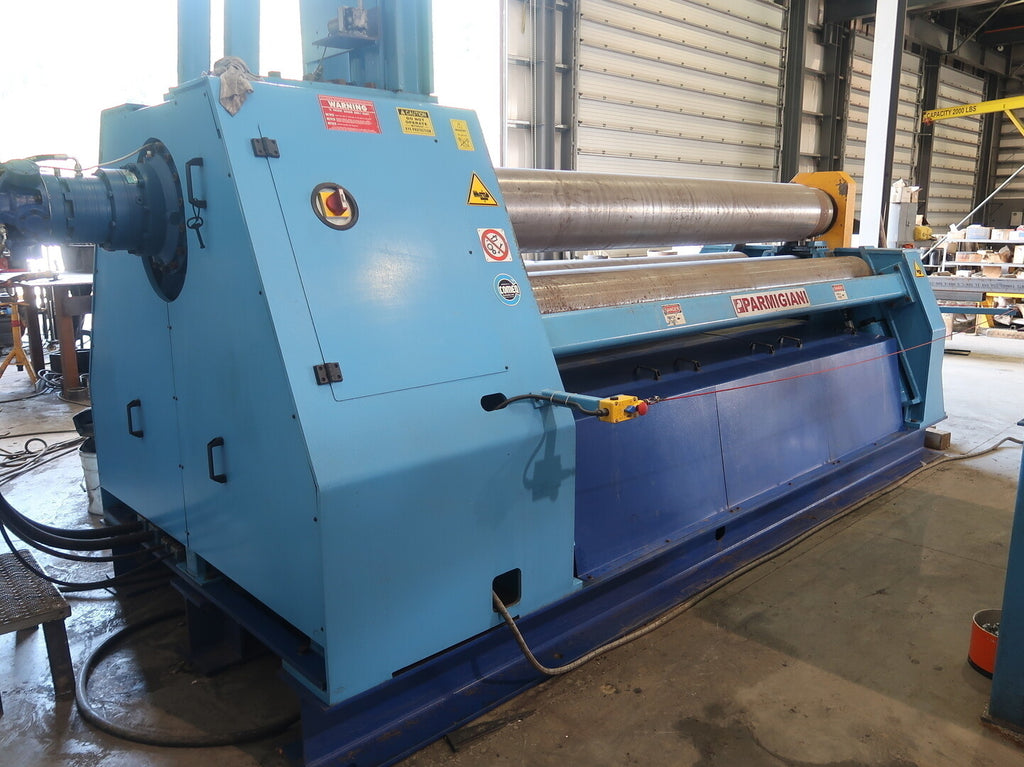 Model VBH 10/370 4-Roll Fully Hydraulic Plate Bending Roll