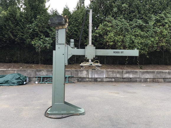 MARHROS AUTOMATION Manufacturing Steel Crane, Model ST