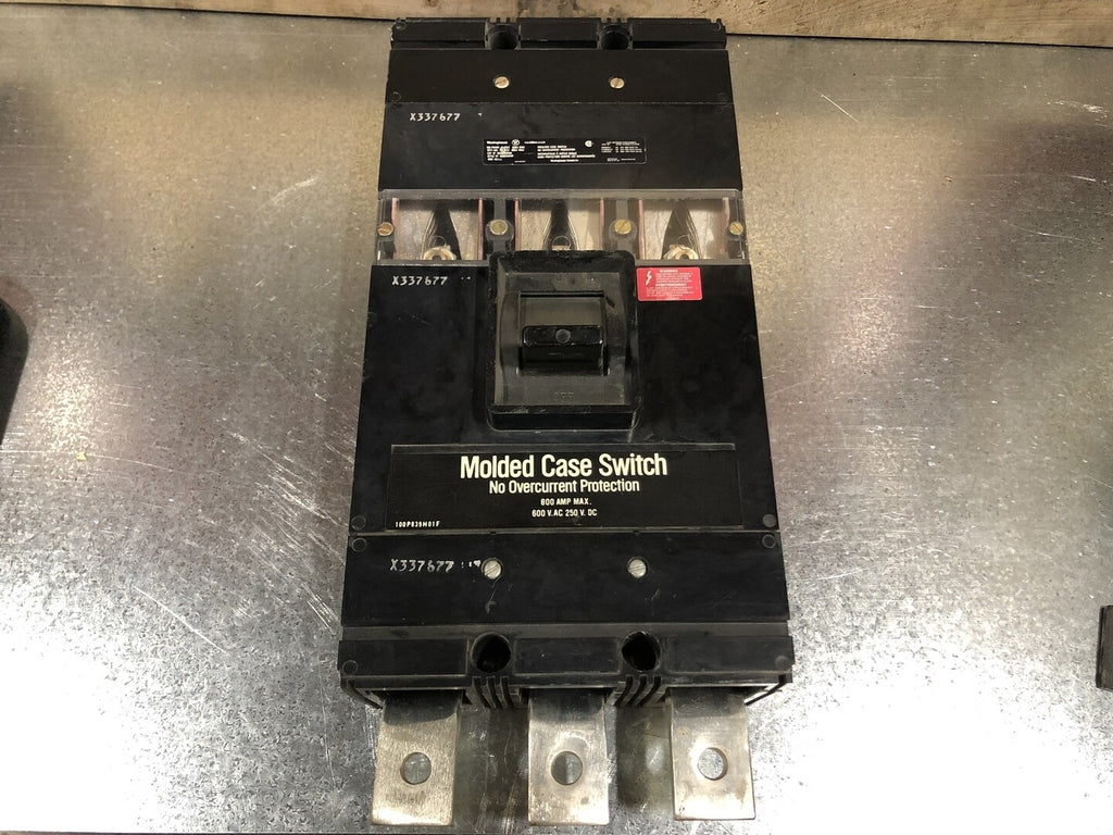 WESTINGHOUSE  800 Amp Circuit Breaker No. MA3800SNW