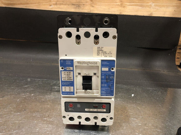 WESTINGHOUSE 225 Amp Circuit Breaker No. KDL2225F