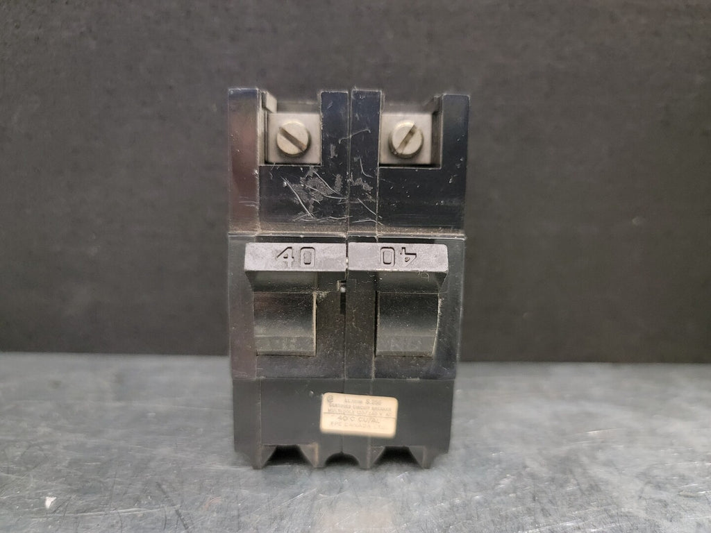 40 Amp Breaker No. NB240