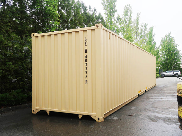 40 ft New/One-Trip Container