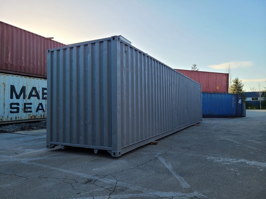 40 ft Construction Grade High-Cube Container