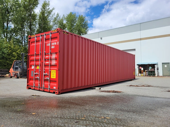 40 ft New/One-Trip High-Cube Container
