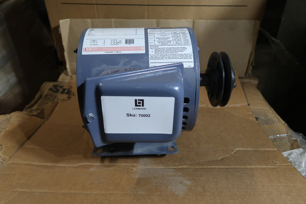 3 hp Electric Motor No. M221
