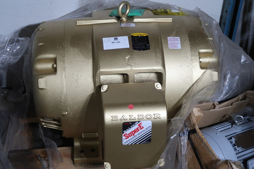BALDOR Super-E 125 hp Electric Motor