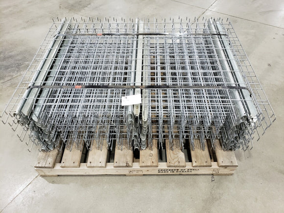 Grates for 42 inch racking inside waterfall 52 inch wide