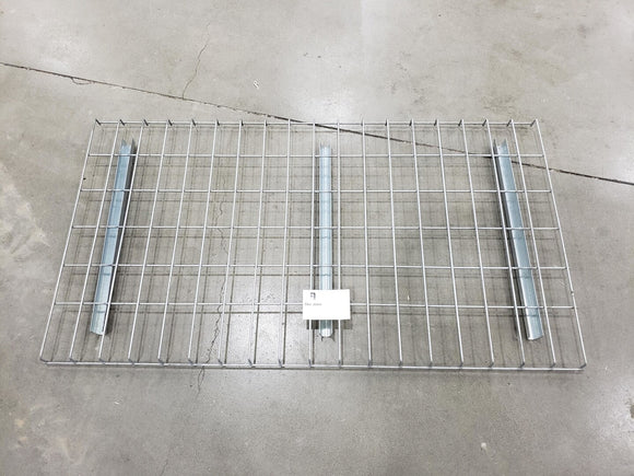 Grates for 24 inch racking outside waterfall 46 inch wide