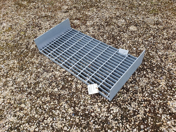 HOT-DIPPED Galvanized Catwalk Grates With Kick Plates