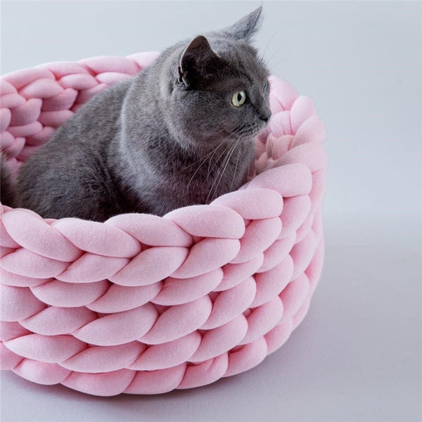 Braided Rope Pet Bed - All sizes available