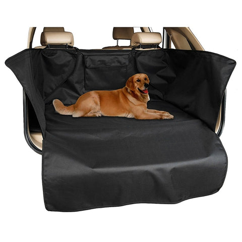 Black Waterproof Car Boot Dog Friendly Cover