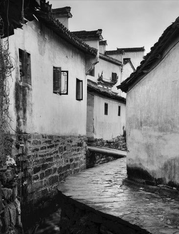 BUILDINGS AND WALKWAY, XIDI, CHINA