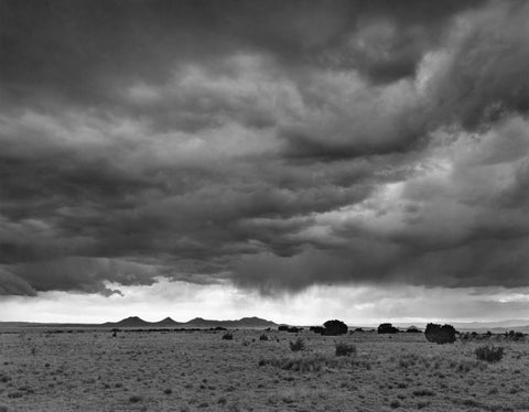 CERRILLOS HILLS, THUNDERSTORM, NEAR SANTA FE, NEW MEXICO