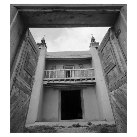 CHURCH ENTRY, LAS TRAMPAS, NORTHERN NEW MEXICO