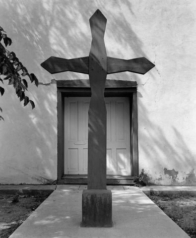 CROSS AND DOOR, CAÑONCITO, NEW MEXICO