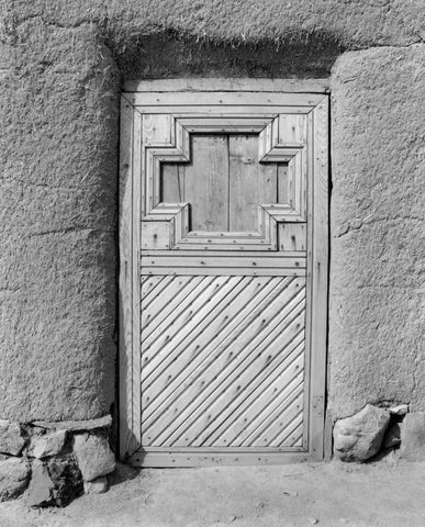 DOOR NO 1, EL RANCHO DE LAS GOLONDRINAS, NEAR SANTA FE, NEW MEXICO