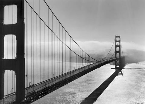 GOLDEN GATE BRIDGE, SUNGLINT