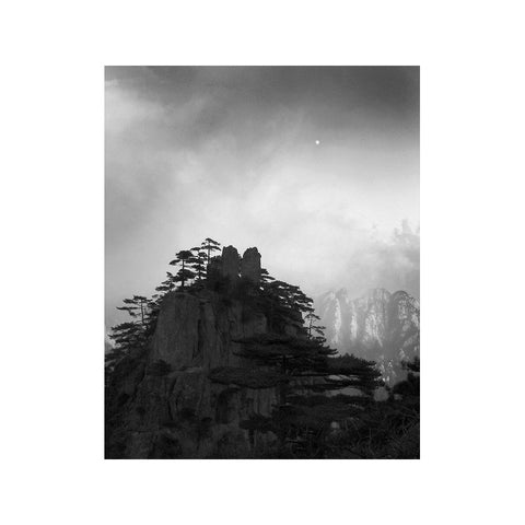MOONRISE AND MIST, HUANGSHAN MOUNTAINS, CHINA