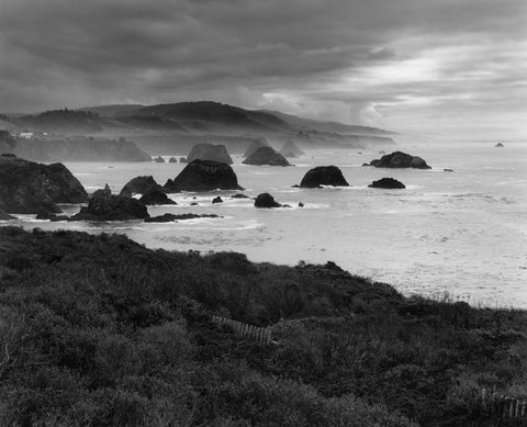 PACIFIC STORM, MENDOCINO COAST, CALIFORNIA